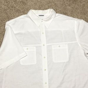 IZOD Big and Tall Saltwater Dockside Button Down